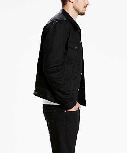 Mens black levis jacket xl