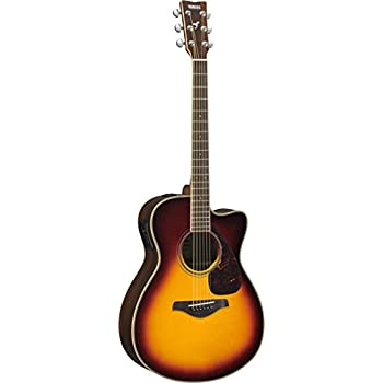 yamaha l series ls16m concert size acoustic electric guitar with gig bag mahogany. Black Bedroom Furniture Sets. Home Design Ideas