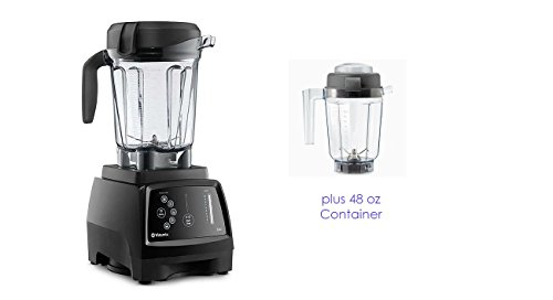 Vitamix G-Series 780 Black Home Blender with Touchscreen Control Panel (64 + 48 oz. WET)