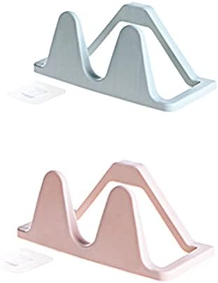 WINOMO 신발 랙 슈즈 랙 수납 공간 세련 된 자석 벽 플라스틱 2pcs / WINOMO Shoe Rack Shoe Rack Storage Space-Saving Stylish Magnet Wall-mounted Plastic 2pcs