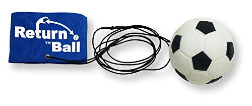 Return Ball - Soccer Ball - Fun Single Player Toy an Indoor and Outdoor Game -
