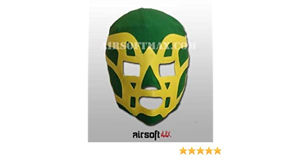 Amazon.com: Fishman Mexican Wrestling Mask for Kids-Mascara de Lucha Libre para Ninos: Sports & Outdoors