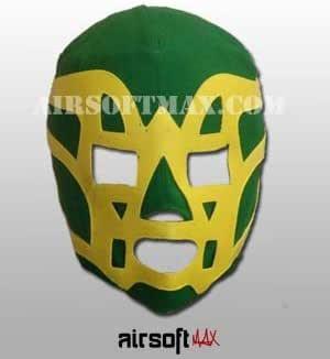 Airsoft-Max Fishman Mexican Wrestling Mask for Kids-Mascara de Lucha Libre para Ninos