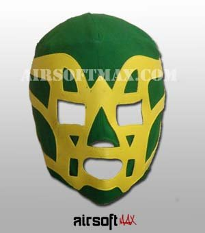 Fishman Mexican Wrestling Mask for Kids-Mascara de Lucha Libre para Ninos