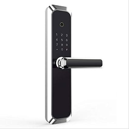 HXYL Cerradura de Puerta Inteligente electrónica, Bloqueo de ...