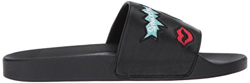 Sandalo Slide Reina Donna Betsey Johnson Nero