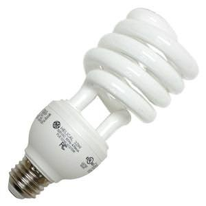 120v T4 Medium Screw - GE 24743 - FLE32HLX/2/827 Twist Medium Screw Base Compact Fluorescent Light Bulb