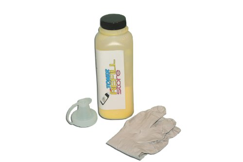 Toner Refill Store TM Yellow Toner Refill Kit for the Ricoh CL-2000 CL2000 CL-3000 CL3000 CL-3000e Type 125 400963