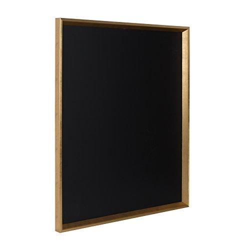 Gold Frame Magnet (Kate and Laurel Calder Framed Magnetic Chalkboard, 25.5
