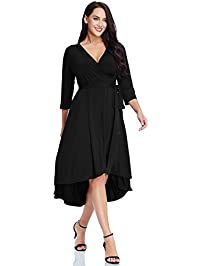 Women S Plus Size Dresses Amazon Com