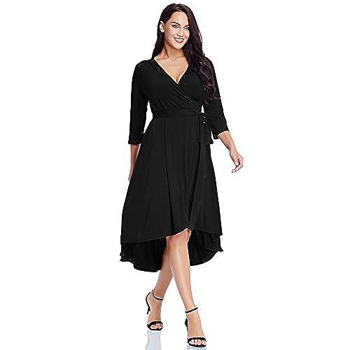 Black High Low Dresses For Plus Size Amazon
