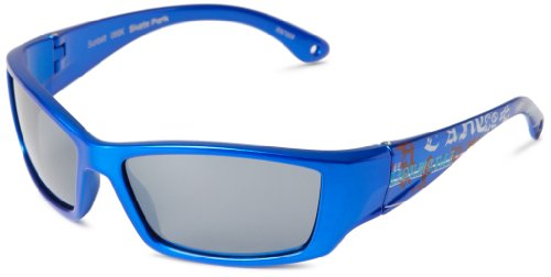 Sunbelt Skate Park 088 Wrap Sunglasses,Blue & Graffiti Print,55 - Skate Sunglasses