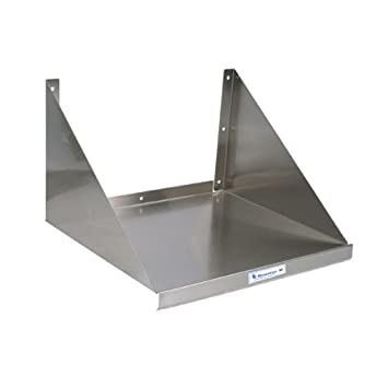 Stainless Steel Kitchen Microwave Wall Shelf