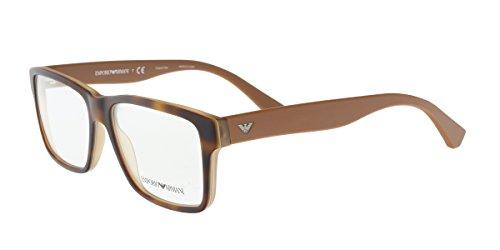 Eyeglasses Emporio Armani EA 3059 5391 TOP HAVANA/MATTE (Emporio Armani Glasses Frames)