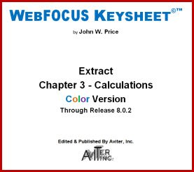Download WebFOCUS Keysheet Calculation Chapter Extract Release 8.0.2 (Quick Technical Reference Guide) pdf