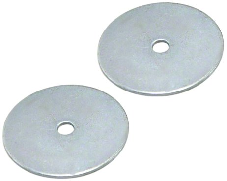 Magnet Expert 50mm dia x 1.5mm thick x 4.2mm c/s hole Nickel Plated Mild Steel Disc ( Pack of 50 )