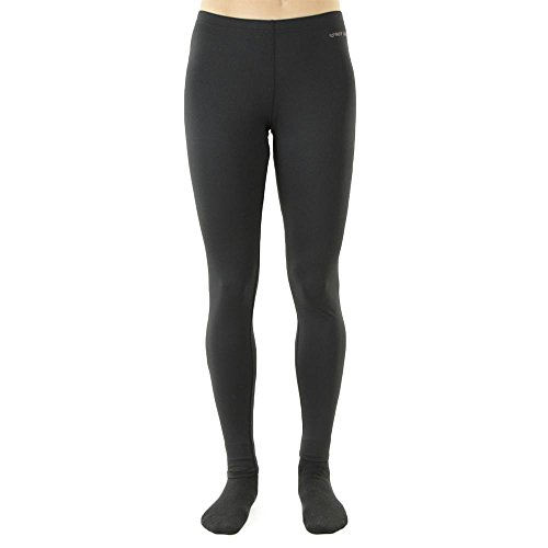 Hot Chillys Women's Micro-Elite Chamois 8K Ankle Tight - Available in Can, Black, Small