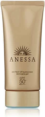 Shiseido Anessa Perfect UV Sunscreen Skin Care Gel SPF50+/PA++++3.2oz