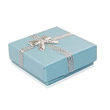 Warehouseshop WSS - Pequeño Lujo Joyería Cajas De Regalo Caja para Colgante pulsera pendientes collar anillo Tienda Hogar Cumpleaños Navidad presenta 5.5cmx ...