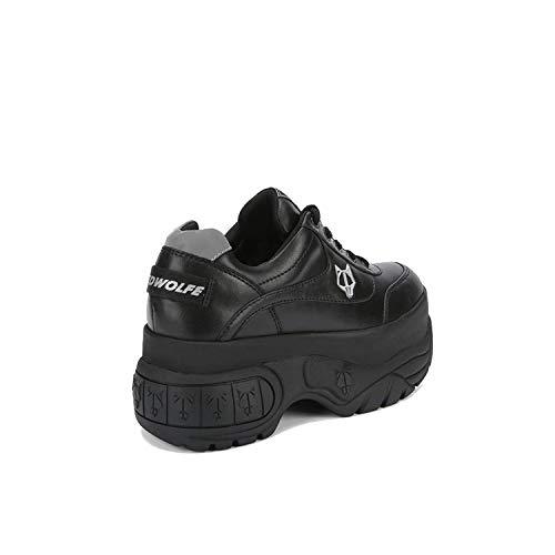 Wolfe Zeppa Naked Nr 9 Nera 39 Pelle Scary Sneaker dWWPRngBZ
