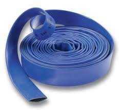Good Quality Lay Flat Hose for Water Pumps, 2'/50 mm, Per 5 metre Length 2/50 mm Clarke