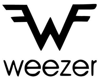 Weezer Rock Band - Sticker Graphic - Auto, Wall, Laptop, Cell, Truck Sticker for Windows, Cars, Trucks
