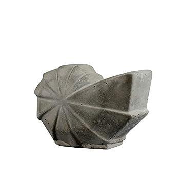 Nicole - Molde de silicona para maceta de hormigón, forma de caracol: Amazon.es: Juguetes y juegos
