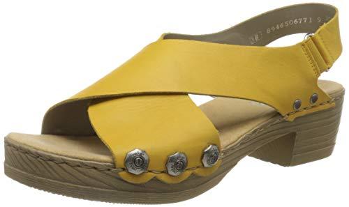 Rieker Damen Frühjahr/Sommer V6888 Geschlossene Sandalen