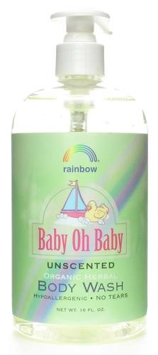 - Baby Oh Baby Body Wash Unscented Rainbow Research 16 oz Liquid