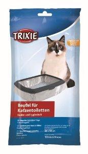 Best Buy TRIXIE Aserrín para gatos Bolsas de bandeja 46 59 cm 10 piezas