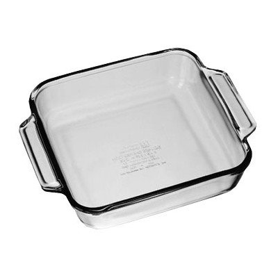 Oven Basics Square Cake Pan [Set of 3] by Anchor Hocking