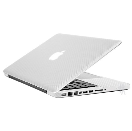 BodyGuardz BZ-ACW1-0311 11-Inch Armor Carbon Fiber Protection for Apple MacBook Air - White