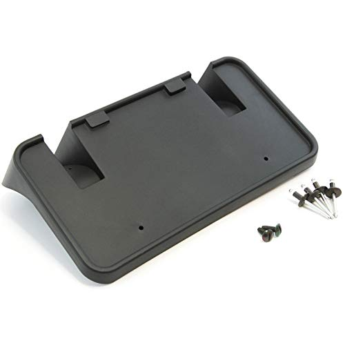 Red Hound Auto Front License Plate Bumper Mounting Bracket Compatible with Ford (Super Duty F-250/F-350/F-450/F-550 1999-2004, Excursion 2000-2004) Includes Screws and Mounting Hardware