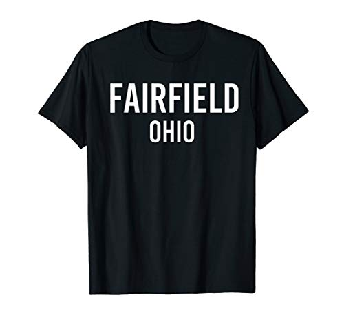 FAIRFIELD OHIO OH USA Patriotic Vintage Sports T-Shirt -