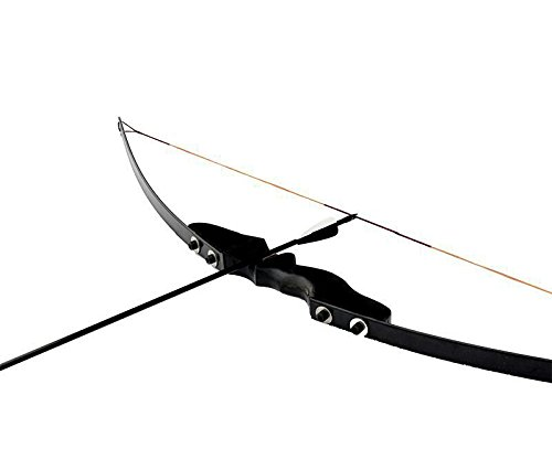 CDRIC 40LBS Higth Quality Black Recurve Bow for Right Handed with wooden Archery Bow Shooting Game Outdoor Sports Review