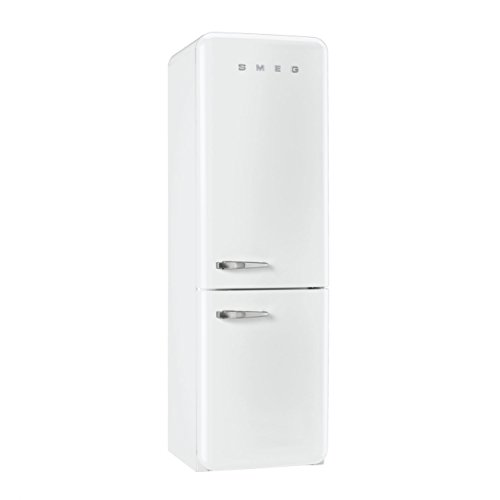 Price comparison product image FAB32UWHRN | Smeg 50s Retro Style Refrigerator with Automatic Freezer - White, Right