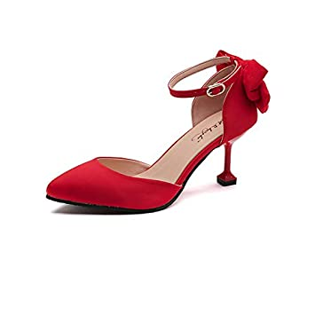 Zapatos Tacón Yukun De Fresca Alto Pequeños Niña cj534LARq