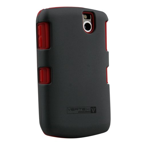 Naztech Vertex Protective Cover - BlackBerry Curve 8300, 8310, 8320, and 8330 - Red
