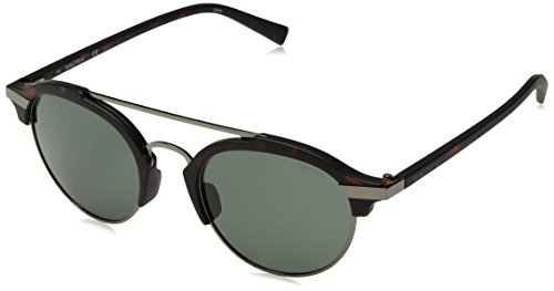 Nautica Men's N4629sp Polarized Round Sunglasses, Matte Dark Tortoise, 50 - Sunglasses Nautica