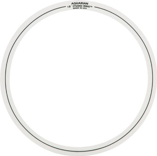 Aquarian Drumheads SR SET#5 Studio Rings two 18-inch