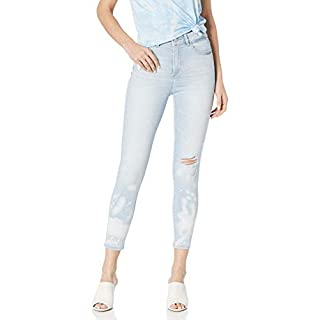 DL1961 Women's Florence Instasculpt Mid Rise Skinny fit Cropped Jean, Goodwin, 27