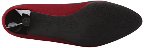 Beautifeel Womens Mystique Dress Pump Pelle Scamosciata Merlot
