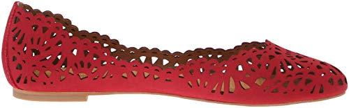 Bloue Rio Corso Women's Flat CC Como Red Ballet tvtwqFY
