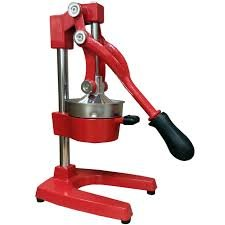 aramco manual lever press citrus juicer stainless steel