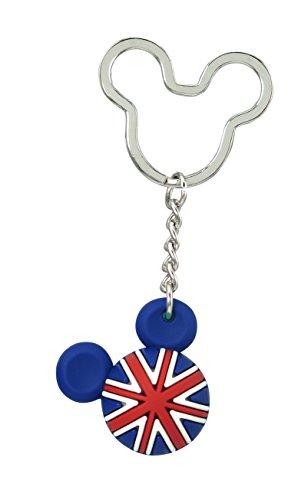Disney Mickey Icon Ball Key Ring - England Key Accessory ()