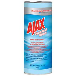 Ajax Oxygen Bleach Heavy Duty Cleanser - Bleach Cleanser Oxygen Ajax
