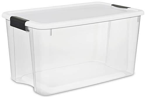 Sterilite 19889804 70 Quart/66 Liter Ultra Latch Box