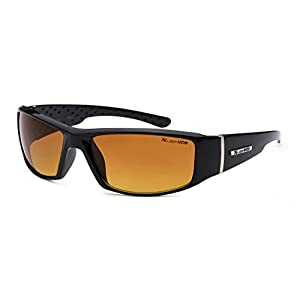 Xloop Hd Vision Black High Definition Anti Glare Lens Sunglasses Black 4098a