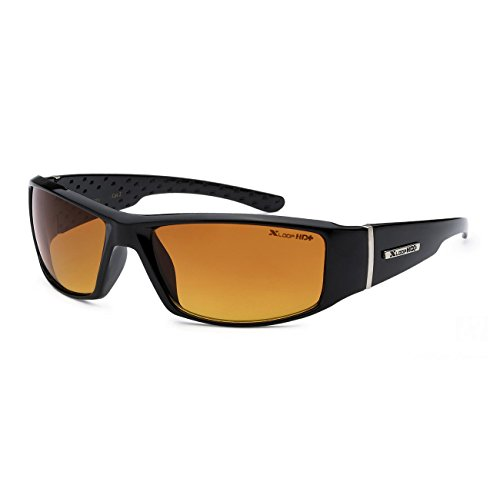 Xloop Hd Vision Black High Definition Anti Glare Lens Sunglasses Black - Sunglasses Hd Vision