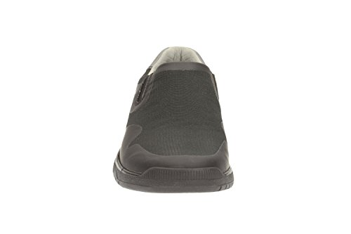 Clarks Casual Hombre Zapatos Votta Free En Textil Negro